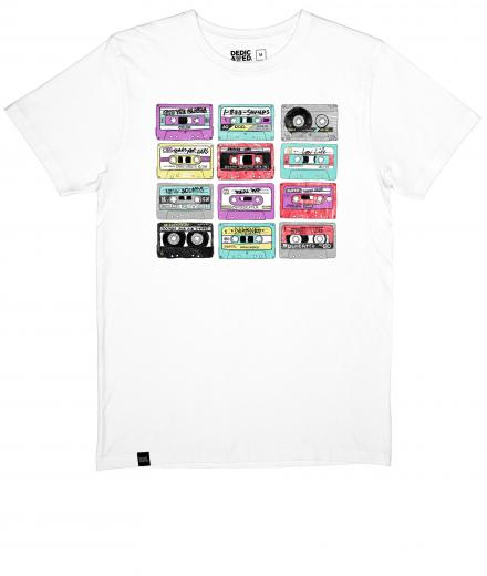 DEDICATED T-Shirt Stockholm Color Cassettes