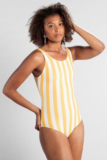 DEDICATED Sport Swimsuit Rana Big Stripes