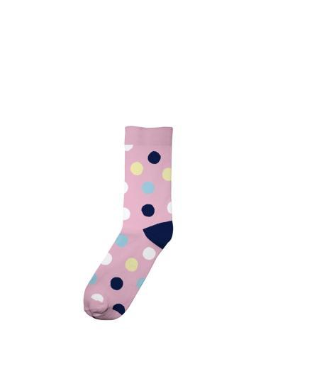 Socks Multi Dots pink | 36-40