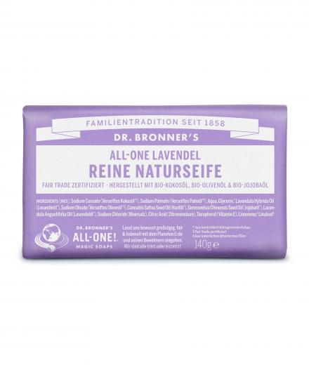 DR. BRONNER'S Bar Soap 140g Lavendel