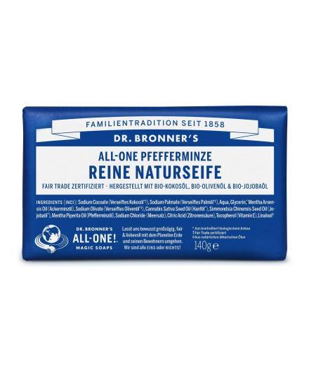DR. BRONNER'S Bar Soap 140g Pfefferminze