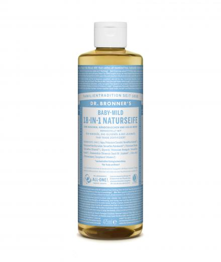DR. BRONNER'S Liquid Soap Baby-Mild 475 ml