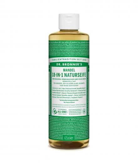 DR. BRONNER'S Liquid Soap Mandel 473 ml