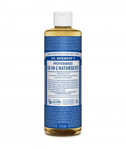 DR. BRONNER'S Liquid Soap Pfefferminze 473 ml