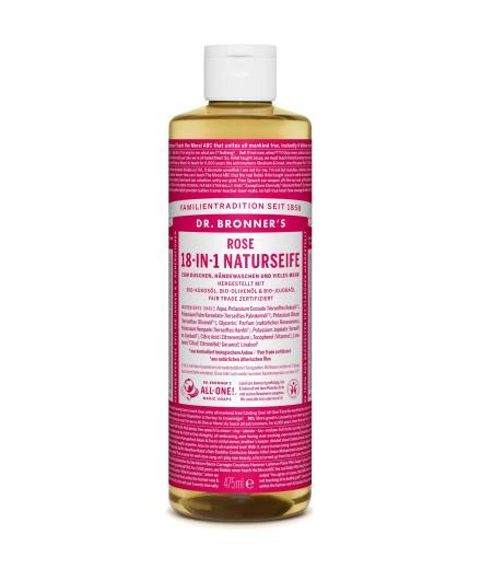 DR. BRONNER'S Liquid Soap Rose 473 ml