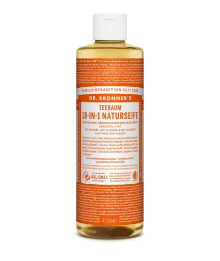 DR. BRONNER'S Liquid Soap Teebaum 475 ml