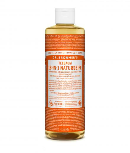DR. BRONNER'S Liquid Soap Teebaum 473 ml