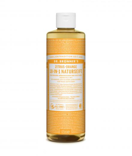 DR. BRONNER'S Liquid Soap Zitrus Orange 473 ml