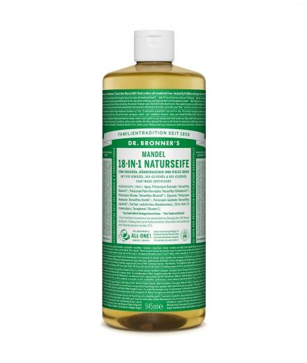 DR. BRONNER'S Liquid Soap Mandel 945 ml
