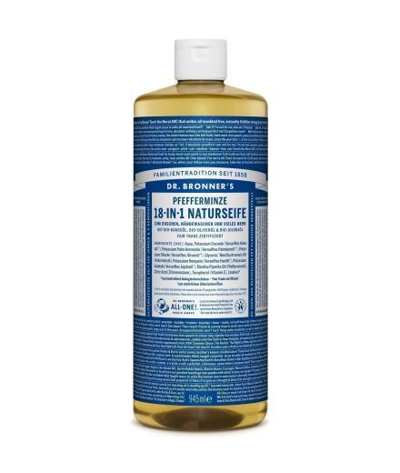 DR. BRONNER'S Liquid Soap Pfefferminze 944 ml