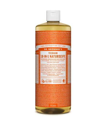 DR. BRONNER'S Liquid Soap Teebaum 945 ml