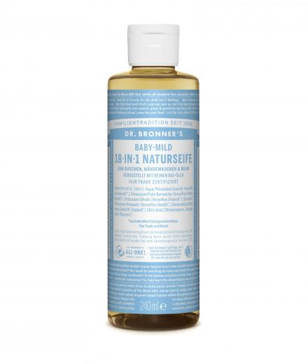 DR. BRONNER'S Liquid Soap Baby-Mild 240 ml
