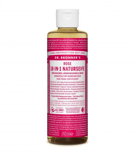 DR. BRONNER'S Liquid Soap Rose 236 ml