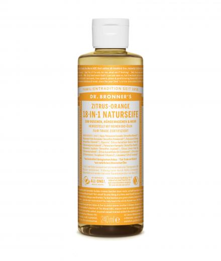 DR. BRONNER'S Liquid Soap Zitrus Orange 236 ml