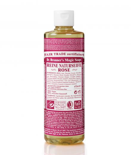 Dr. Bronner Liquid Soap Rose