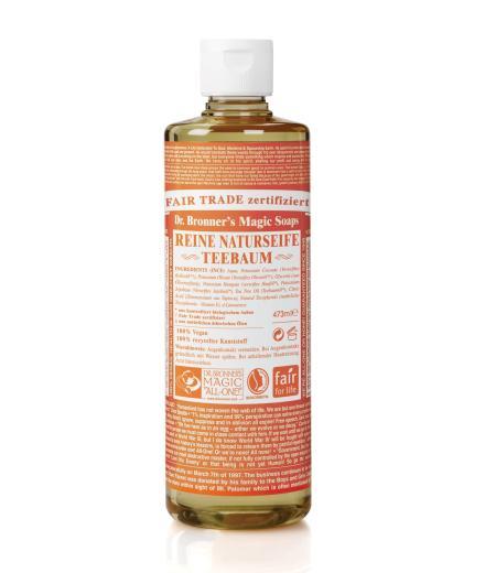 Dr. Bronner Liquid Soap Teebaum