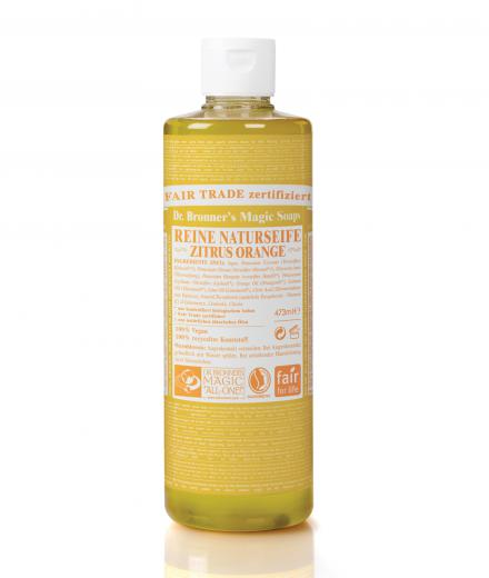 Dr. Bronner Liquid Soap Zitrus Orange