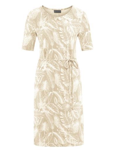HempAge Dress Jungle Print Gobi