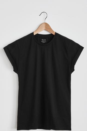 Boyfriend Shirt #eib black | XS