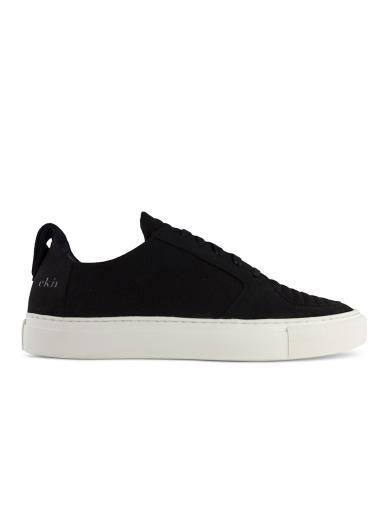 ekn footwear Argan Low Vegan black vegan