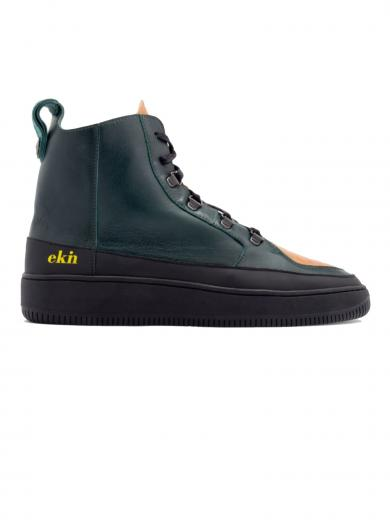 ekn footwear Argan High Duck moss