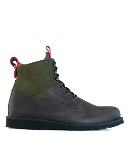 ekn footwear Cedar Boot brown olive | 44