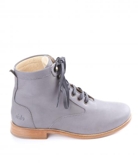 Ekn Footwear Desert High Grey Leather