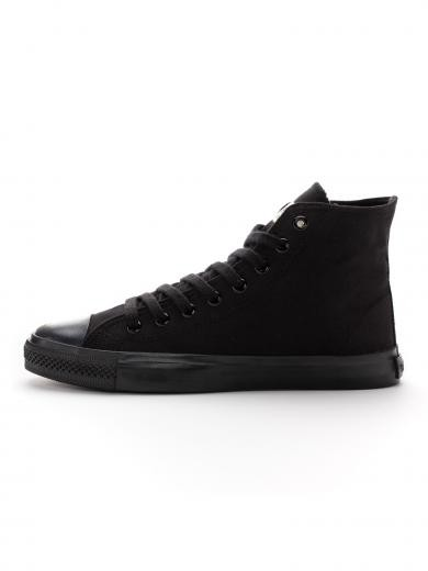 ETHLETIC Fair Trainer Black Cap Hi Cut