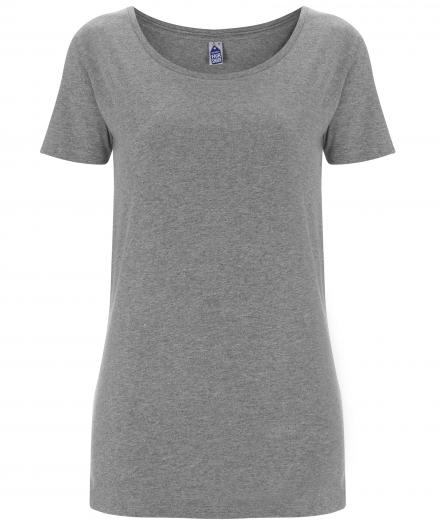 FAIR SHARE Womens T-Shirt melange grey | S
