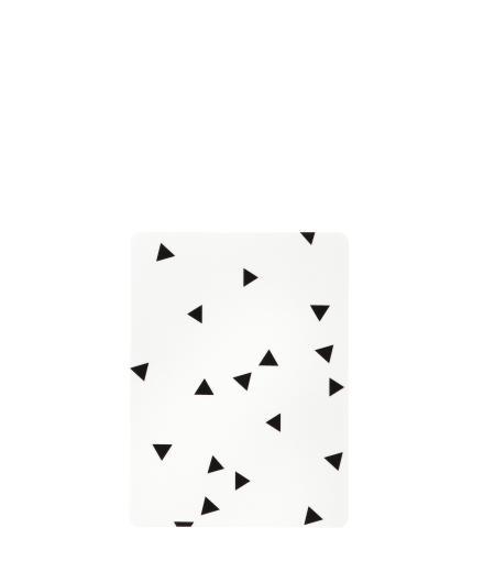 ferm LIVING Buttering Board black mini triangle