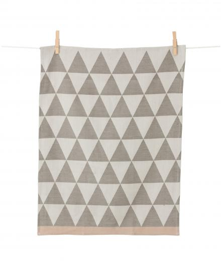 Ferm Living Mountain Tea Towel grey