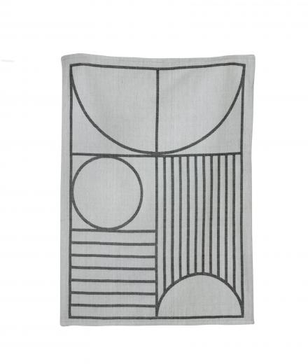 ferm LIVING Outline Tea Towel