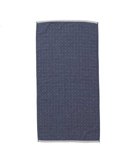 ferm LIVING Sento Hand Towel Blue
