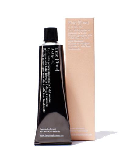 FINE Deodorant 40g Vetiver Geranium