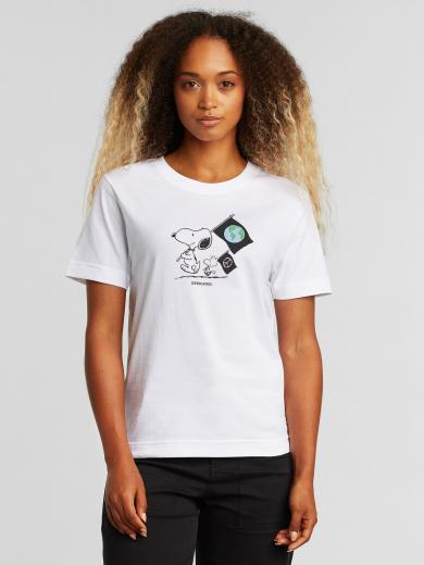 DEDICATED T-Shirt Mysen Snoopy Flags