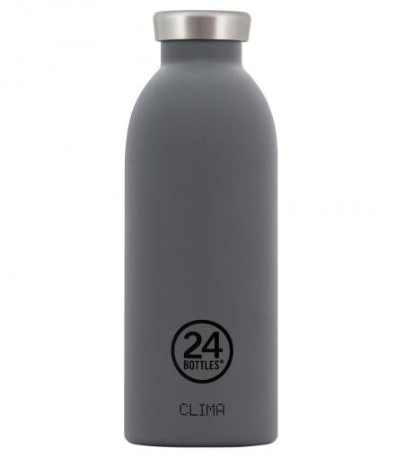 24Bottles Clima Thermosflasche Stahl 0,5l grey
