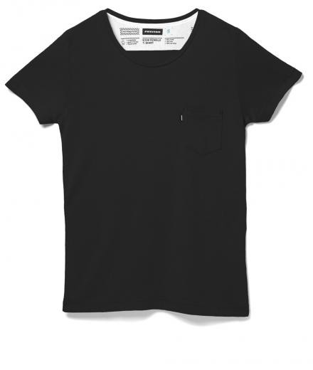 FREITAG F-ABRIC E320 Female T-Shirt XS | black