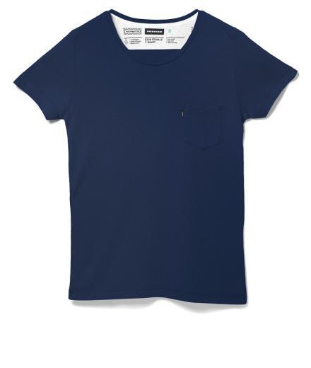 FREITAG F-ABRIC E320 Female T-Shirt M | Dark Blue