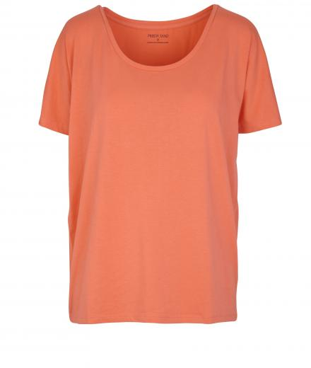 FRIEDA SAND Rosa Short Sleeve T-Shirt abricot | S