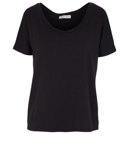 FRIEDA SAND Rosa Short Sleeve T-Shirt black | M