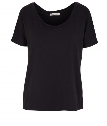FRIEDA SAND Rosa Short Sleeve T-Shirt black | S