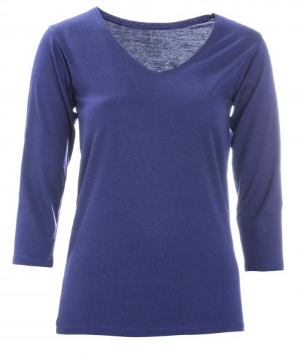 FRIEDA SAND Kahlo V-Neck Dark Blue | L