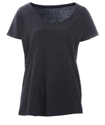 FRIEDA SAND Rosa Loose T-Shirt Black | S