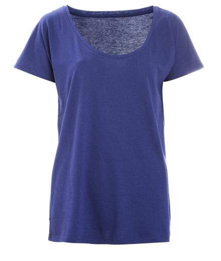 FRIEDA SAND Rosa Loose T-Shirt Dark Blue | L