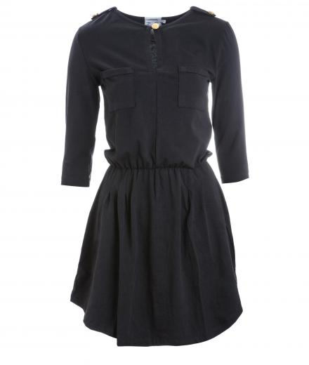 Glimpse Clothing Dress Butter Chicken Black | M
