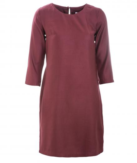 GLIMPSE Dress Kurta Dark Red | M