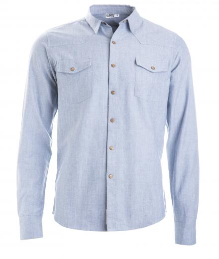 Glimpse Clothing Shirt Indik Light Jeans