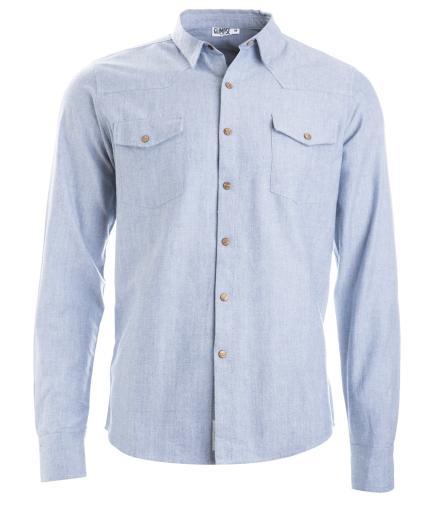 GLIMPSE Shirt Indik Light Jeans M