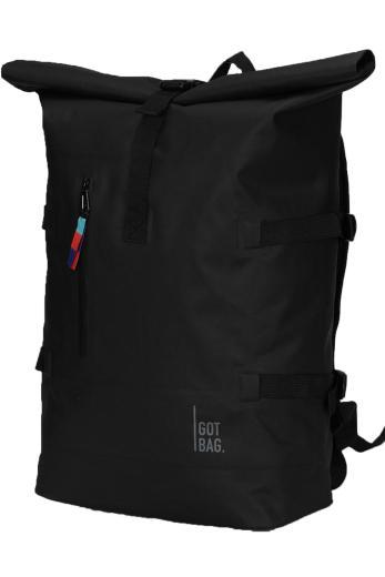 GOT BAG Rolltop Backpack Black