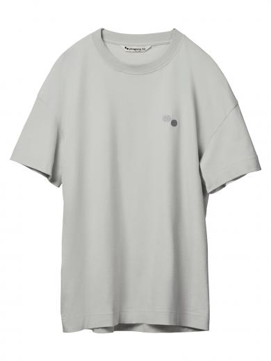 pinqponq T-Shirt Limestone Grey